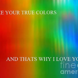 I See Your True Colors by Ed Weidman