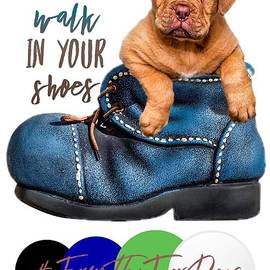 I Will Walk In Your Shoes by Kathy Tarochione