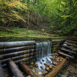 Iargo Springs Cascade by Christopher Thomas