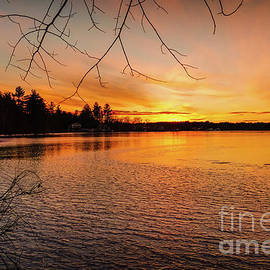 Ice on fire by Claudia M Photography
