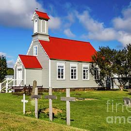 Icelandic Church by Lyl Dil Creations
