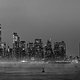 Icons Of New York City Bw by Susan Candelario