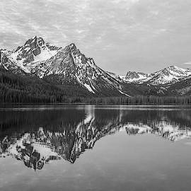 Idaho - Black And White by Aaron Spong