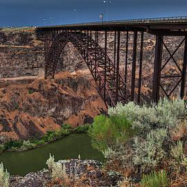 Idaho - Perrine Memorial Bridge 001 by Lance Vaughn