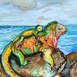 Iguana by Maria Sibireva