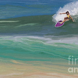 I.m Ripping Through the Waves by Julie Grimshaw