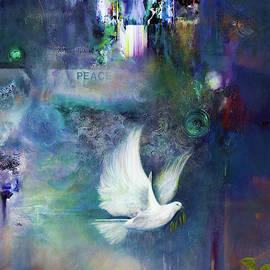 Brooks Garten Hauschild - Imagine - Original Art - Acrylic on Canvas - Inspirational Art