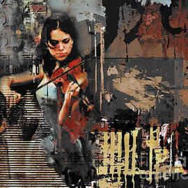 Impressionist art on canvas  by Gull G