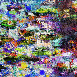 Impressionist Lily Pond 2 by Ginette Callaway