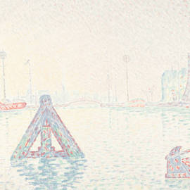 In Holland-the Buoy by Paul Signac