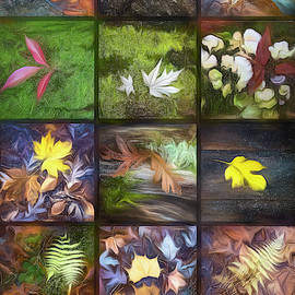 In Love With Nature Oil Painting by Debra and Dave Vanderlaan