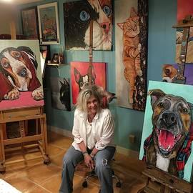 In My Studio by Patti Schermerhorn