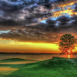 In The Limelight The Landing Reynolds Plantation Golf Series Art by Reid Callaway