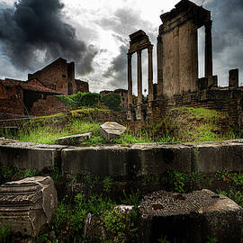 In The Roman Forum by Chris Lord