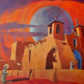 In The Shadow Of St. Francis by Art West