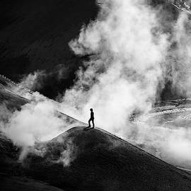 In The Valley Of Sulfur B/w by Peng Shi