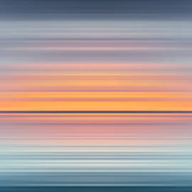India Colors - Abstract Wide Oceanscape by Stefano Senise