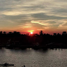 Indian Creek Sunset - Miami by Doc Braham