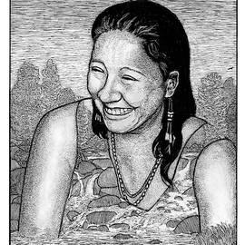 Ingrid Washinawatok El-Issa by Ricardo Levins Morales