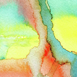 Innocence - Abstract Watercolor Painting by Susan Porter