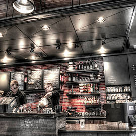 Inside Starbucks by Spencer McDonald