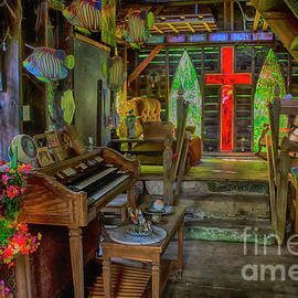 Inside The Eclectic Chapel by Janice Pariza