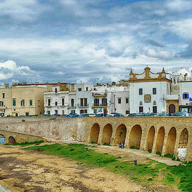 Ionian Waterfront Of Gallipoli by Steve Estvanik
