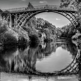 Iron Bridge Shropshire  by Adrian Evans