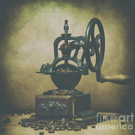 Iron Coffee Grinder by Dale Powell