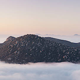 Iron Mountain Above the Clouds by William Dunigan