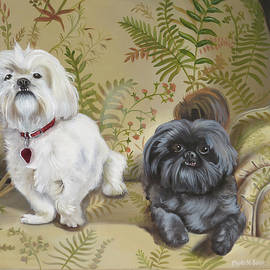 Isabelle And Pooter by Phyllis Beiser