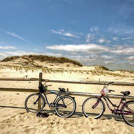 Island Beach State Park in New Jersey beach scenic series I by Geraldine Scull