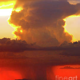 Isolated Desert Thunderstorm by Douglas Taylor
