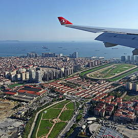 Istanbul from Above by Lyuba Filatova
