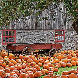 It's Pumpkin Time Pop Art by Maria Keady