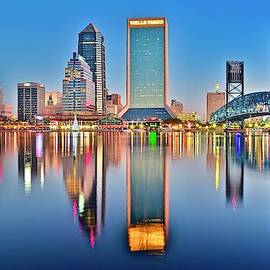 Jacksonville Alight and Aglow by Frozen in Time Fine Art Photography