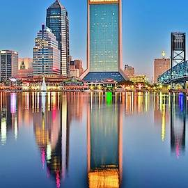 Jacksonville Reflecting by Frozen in Time Fine Art Photography