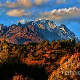 Jade Dragon Snow Mountain China by Blake Richards