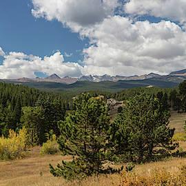 James BO Insogna - James Canyon Autumn Peaks Panoramic View