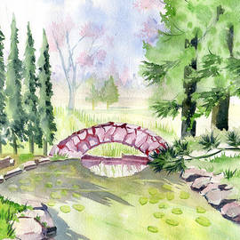 Japanese Garden 2 by Melly Terpening