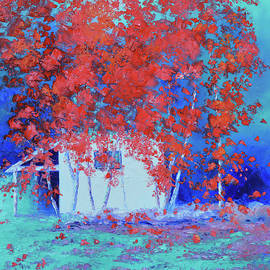 Japanese Maple Trees by Jan Matson