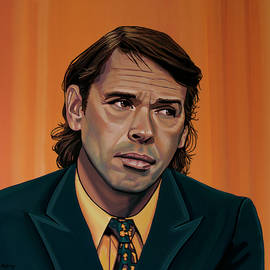Jaques Brel Painting by Paul Meijering