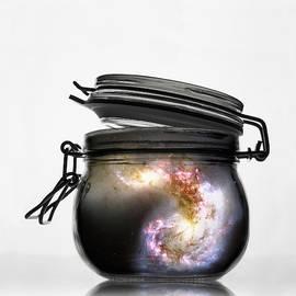 Jar Of Galaxy by Marianna Mills
