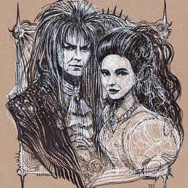 Jareth and Sarah by Alex Ruiz