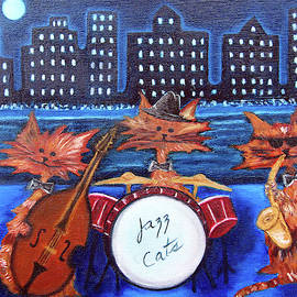 Jazz Cats by Lisa Lorenz