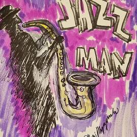 Jazz Man by Geraldine Myszenski