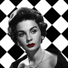 Jean Simmons by Mai Qadan