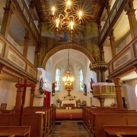 Jedlina Zdroj Parish Church by Norma Brandsberg