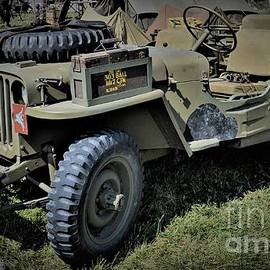 Jeep from World War II by Suzanne Wilkinson
