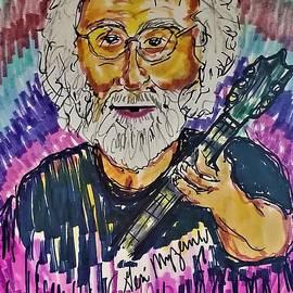 Jerry Garcia  by Geraldine Myszenski